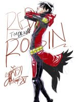 Red Robin sketch by coolmonkeyd