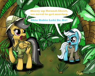 Daring Do and the Temple of Gloom by SuperKingC777