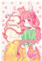 Will you be my Valentine? by candykiki