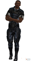 ME3 Steve Cortez Alliance Fatigues (XPS) by SonYume