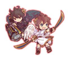 Two Angels Team by doublejoker00
