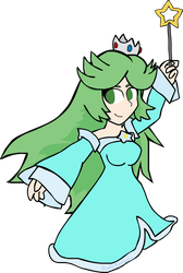 Princess Palutena (goddess of Space) by RobyApolonio
