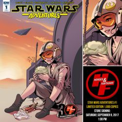 Star Wars Adventures 1 by ninjaink
