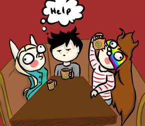 HIGH ON COFFE!!! TOO HIGH!!! -Contest by Temmious