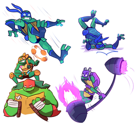 More Turtles by Green-Patch