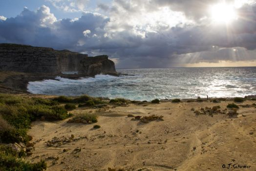 rough nature on Gozo by Sockrattes