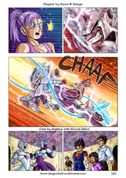 Dragon Ball Multiverse: 1211 Color by Argelios