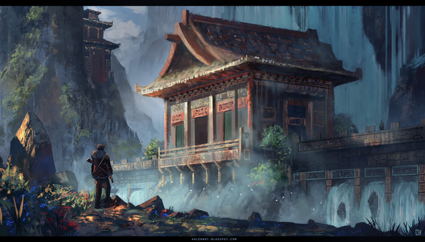 Uncharted: Redesign Temple by k04sk