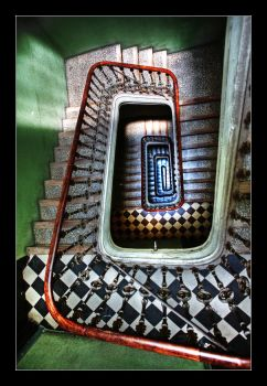 Spiral staircase by SergejE