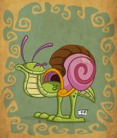 Giant Snail by SorprenDante