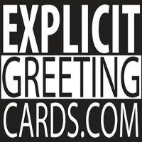 Explicit Greeting Cards Logo by DamnMulletDesign