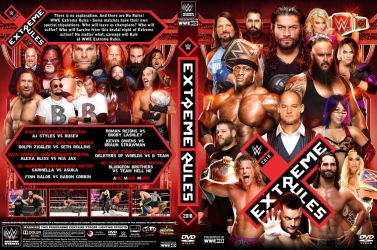 WWE Extreme Rules 2018 DVD Cover by Chirantha
