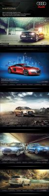 Audi Campaign by illuphotomax