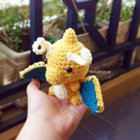 [FREE SHIPPING] Chibi Dragonite amigurumi by NVkatherine