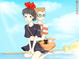 Kiki's delivery service by AllimacLyra