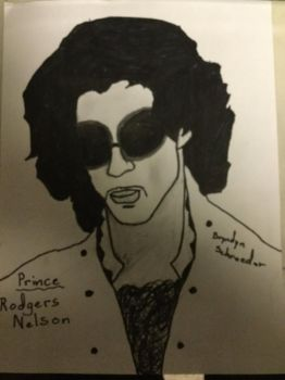 Prince Rogers Nelson by ScabOfTriton