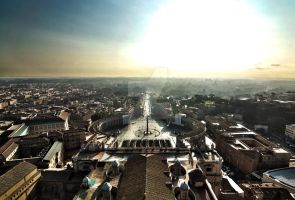 Rome at dawn by MrMyiagi