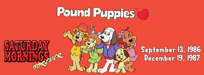 SATURDAY MORNINGS FOREVER: POUND PUPPIES 1980s by WOLVERINE25TH