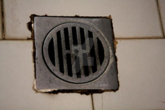 Down the drain by IanBlack