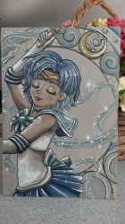Sailor Mercury ~ by moonshadebutterfly