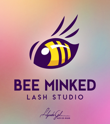 'Bee Minked' Logo Design by AlexGilBle