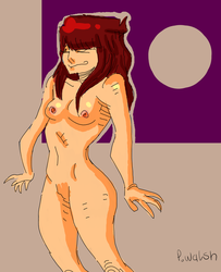 Naked lady Sketch by ParkerThePowerful