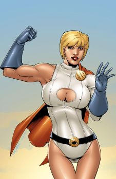 Power Girl by GoldenGoatStudios