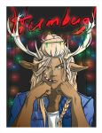 Christmas Card 2018 Finished - I am NOT a Reindeer by Ryuyujin