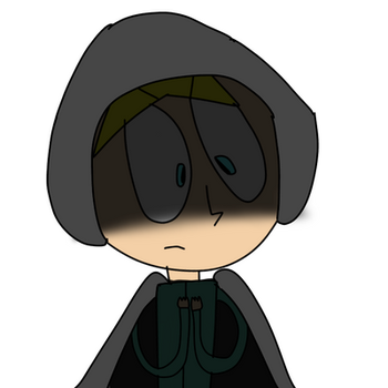 The Cloaked Boy by Kissasheep
