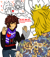 [Undertale]:~''JUST DO IT.''~ by The-Star-Hunter