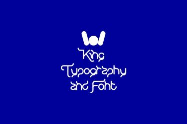 KING of Typography And Font by weknow