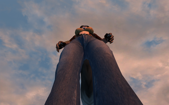 Oblivion Resi The Giantess by dsgf