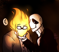 UT: By the Light of Your Head (Collab) by DrGaster