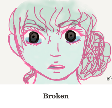 Broken (image only) by Lily-Berry