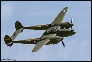 P-38F Glacier Girl NX17630 by AirshowDave