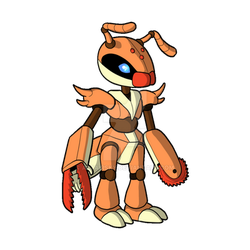 Ant bot concept by AltairSky