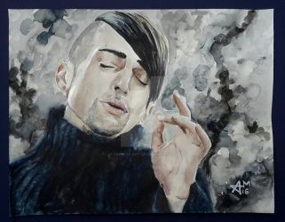 Mitch Grassi by Hedwigs-art