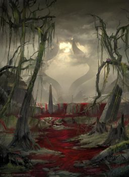 Swamp Devastated - MTG by ClintCearley