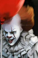 Pennywise - Its 28 Years later! by ChantelleSmith-Art