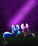 The stars are bright tonight .:Event:. by Puddlewhiskers