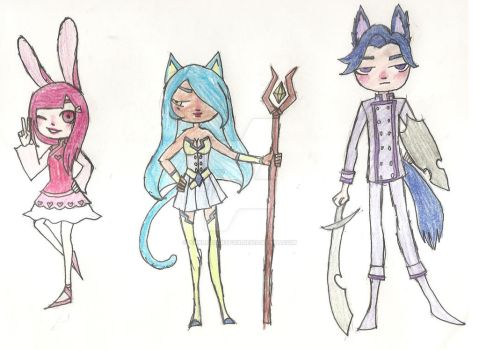 Kemonomimi RPG Adopts (Closed) by AnklesocksFox