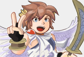 Kid Icarus: Uprising by RamyunKing