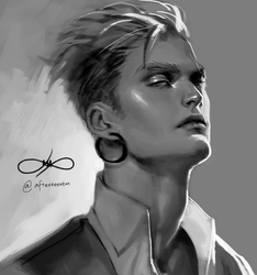 1hr photo study by Afternoontm