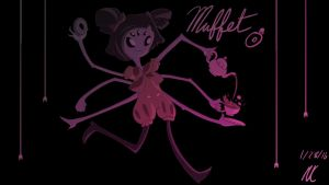 Muffet [Undertale] by GlitchyReal