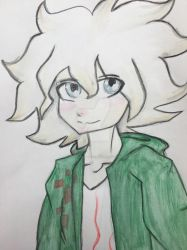 watercolor komaeda