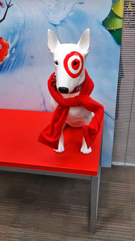 Target Dog by ThatTMNTchick