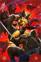 wolverine collaboration by francis001