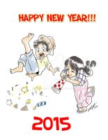 Newyear2015 by melcasipit