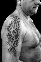 Neo-Celtic tattoo by Greg0s