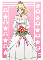 Mario Odyssey : Wedding Peach by MarioK9